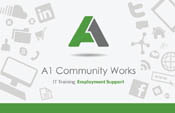 A1 Community Works Business Card