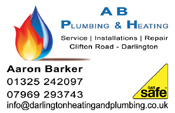 A B Plumbing Business Cards