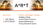 ART Paving Business Cards