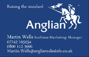 Anglian Home Improvements Business Cards