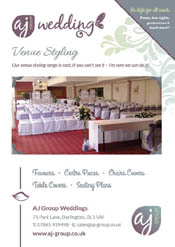 AJ Group Leaflet Design