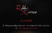 Ricky James Business Cards
