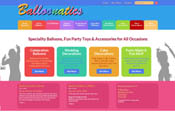 Balloonatics Website