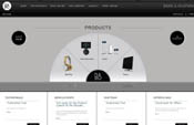 Bang and Olufsen Website Design